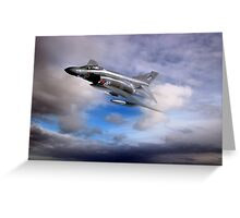 Royal Air Force F4 Phantom Greeting Card