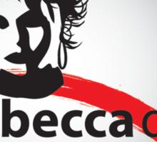Rebecca Dru Photography Stamp Logo Sticker
