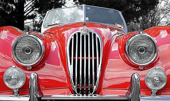 Jaguar XK 140 Winner Le Mans 1951-3 by Martin Lomé