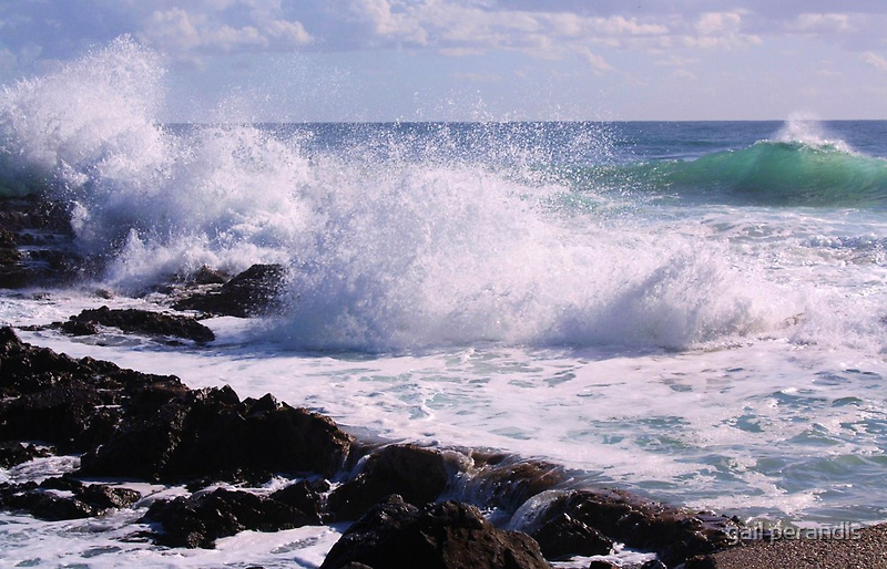snapper rocks ... by gail woodbury