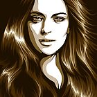 Lindsay Lohan by CarolinaMatthes