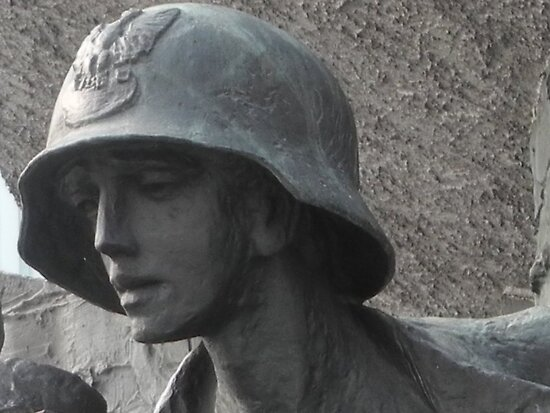 Warsaw Uprising Memorial by Sue Ballyn