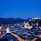 Blue Hour Salzburg by Ming Jun Tan