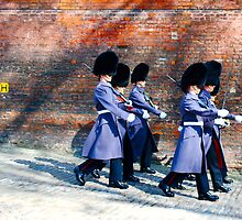 Guards, Tower of London by MaggieGrace