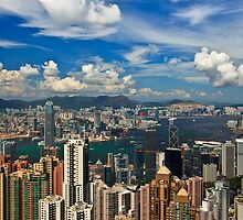 Victoria Peak - Hong Kong by Acidium