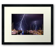 Storm over Nantucket Framed Print