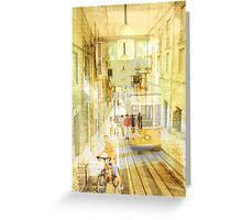 Memories from Lisbon Greeting Card