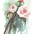 Rosa Rosaceae by Maree Clarkson
