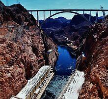 Hoover Dam bypass Bridge by Stephen Burke