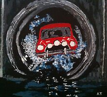 Italian Job Acrylics by AndyEssex41