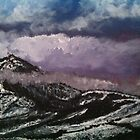 Mountain Scene Scotland Acrylics by AndyEssex41