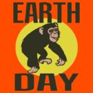 EARTH DAY-CHIMPANZEE by OTIS PORRITT