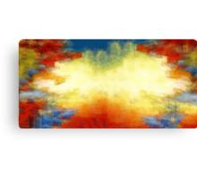 Splash of Colors Oil Painting 2 Canvas Print