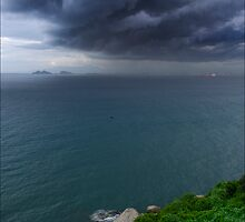 Storm Over Danang by Karl Willson