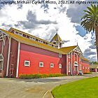 The Red Barn Stanford University by Michael  Corwin