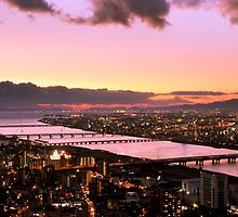 Another view from Umeda Sky Building during Sunset by Thiranja, Prasad Babarenda Gamage