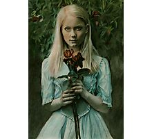 Where the wild roses grow Photographic Print