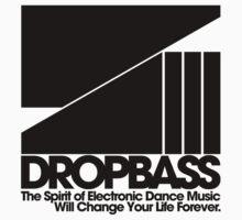 DropBass Logo (Black) by DropBass