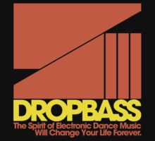 DropBass Logo (Orange/Yellow) by DropBass