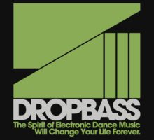 DropBass Logo (Neon Green/Silver) by DropBass