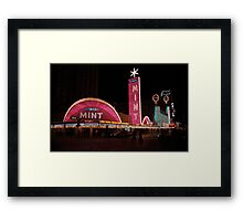 Las Vegas with Watercolor Effect Framed Print