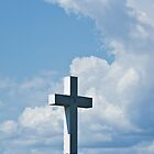 Cross in the clouds by Brenda  Meeks