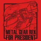 Metal Gear REX for President by screamingcolor