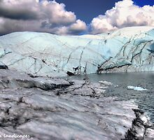 Proof of receding glacier by Erika Price
