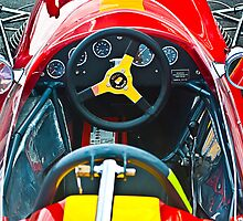 Brabham  BT11a Cockpit by Stuart Row