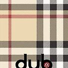 dub tartan by Benjamin Whealing