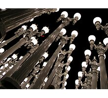 The Lights at LACMA Photographic Print