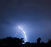 Bright Lightning by Marc  Rossmann