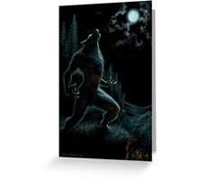 Howl of the Werewolf Greeting Card