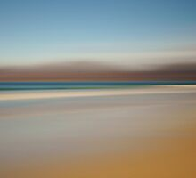 Beach Abstract by John Ellis
