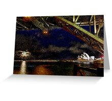Sydney Opera House Greeting Card