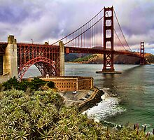 The Golden Gate Bridge, San Francisco, USA by Jennifer Bailey
