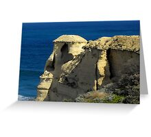 Shaped by Time Greeting Card