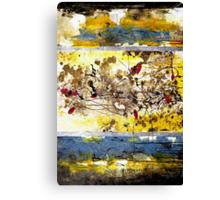 Splash of Color Oil Painting 2 Canvas Print