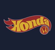 Honda hot wheels by Benjamin Whealing