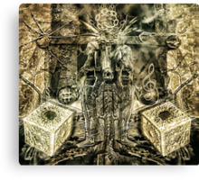 Godisnowhere666 - Graphic  Canvas Print