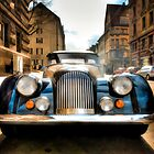 Morgan Plus 8 Front by wulfman65