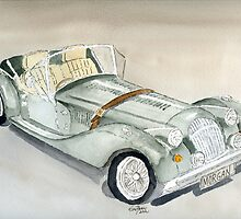 Morgan Sports Car by Eva  Ason