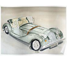 Morgan Sports Car Poster