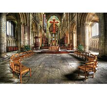 The Gathering - Peterborough Cathedral Photographic Print
