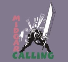 Midgar Calling by ryanhaak