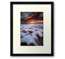Snoferno Framed Print