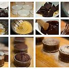 Chocolate Fondant - collage photo recipe by Magdalena Warmuz-Dent