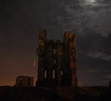 Helmsley Castle at Night by Samantha Creary
