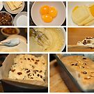 Fruit cake - collage photo recipe by Magdalena Warmuz-Dent