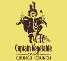 Captain Vegetable Kids Clothes